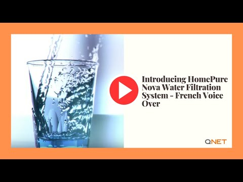 Introducing HomePure Nova Water Filtration System - French Voice Over