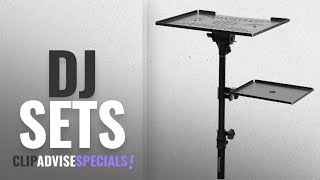 Top 10 Dj Sets [2018]: Bespeco LPS100 Laptop and Projector Stand, Black