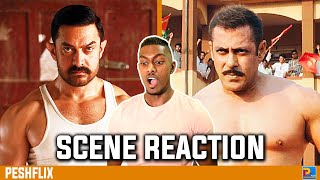 Dangal vs Sultan | Intro Fight Scene Reaction | Aamir Khan vs Salman Khan | PESHFlix