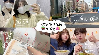 School starts! A week of daily Japan life📚ㅣTest and its results✏️ㅣGoing to gym🏋️‍♂️ㅣEating vlog