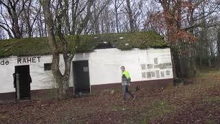 verlaten camping Parc de Rahet, Hotton