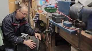 Restoring an old Blacksmiths' Bellows Forge