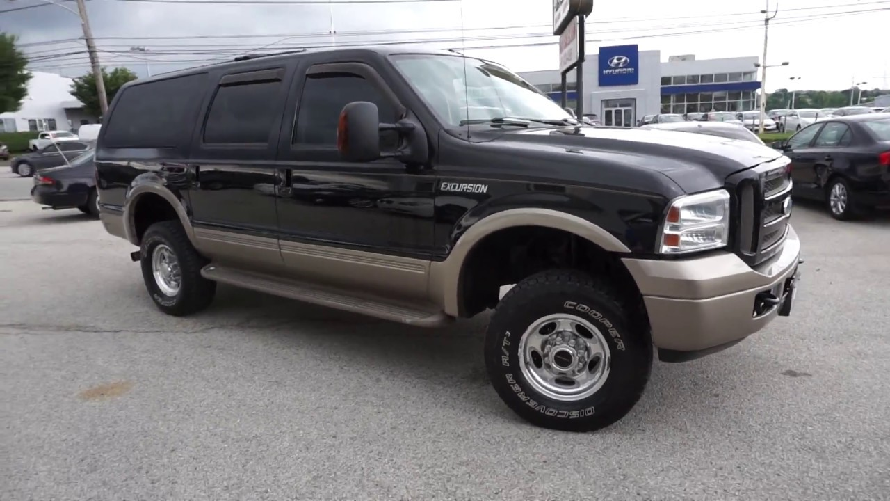 2005 ford eddie bauer ford excursion diesel walkaround plymouth meeting auto sales