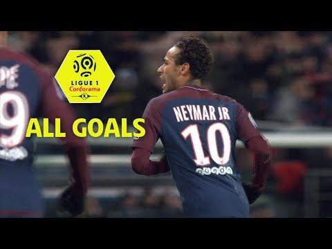 All Neymar JR Goals | season 2017-18 | Ligue 1 Conforama