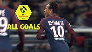 All neymar jr goals | season 2017-18 | ligue 1 conforama