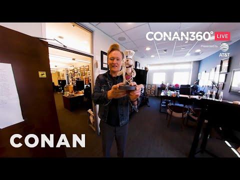 CONAN360° LIVE Highlight: Conan's Office Tour