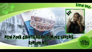 [KIDZINC] ROBLOX NFL l LETS GO!!
