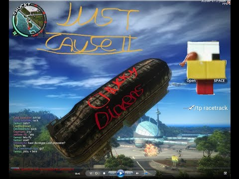 Just Cause 2 Multiplayer Mod Showcase and Flying Barges
