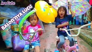 Ara Bermain Sepeda Dan Balon Bebek Bersama Neng thumbnail