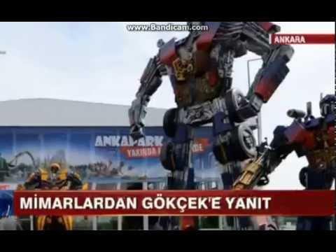 Ankara Robotu Davalık Oldu Melih Gökçek