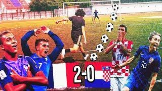 FRANCE VS CROATIE ULTIME FOOTBALL CHALLENGE !