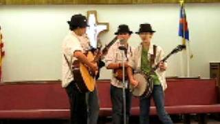 "The Sherman Mountain Boys singing ""Hold On, Help Is On the Way"""