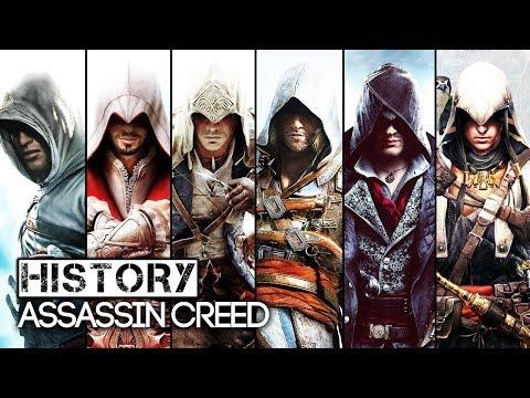 ملخص كامل بالترتيب لقصة سلسلة  Assassin's Creed !! en streaming
