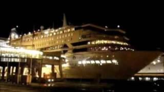 Silja Europa is leaving Turku