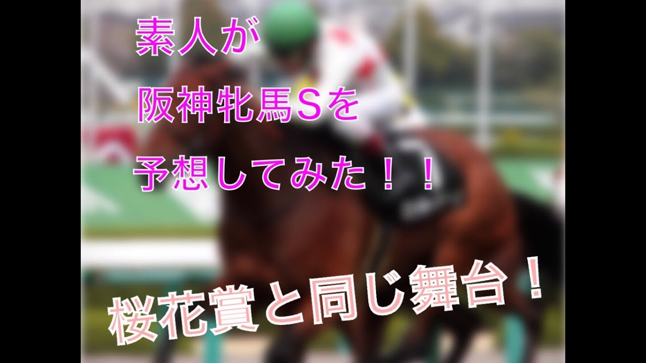 【競馬予想】素人が【阪神牝馬S】を予想してみた!!
