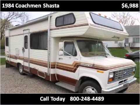1984 Coachmen Shasta Used Cars Des Moines IA - YouTube