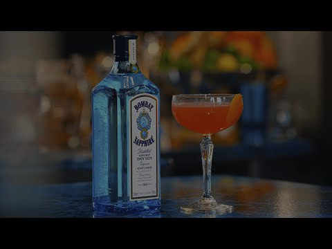 Modern Epicurian - Bombay Sapphire Cocktail