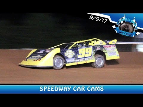 #99 Shun T Thomas - Super Late Model - 9-9-17 Fort Payne Motor Speedway - In Car Camera