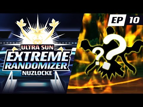 1ST LEGENDARY TOTEM POKEMON!! | Pokemon Ultra Sun EXTREME Randomizer Nuzlocke Part 10