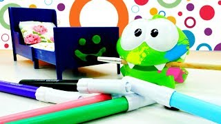 Пригоди Ам Ням - Ам Ням робить ремонт - Мультики для дітей