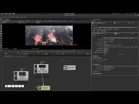 Simple Audio Play Back plugin for Natron Tutorial Demo thumbnail