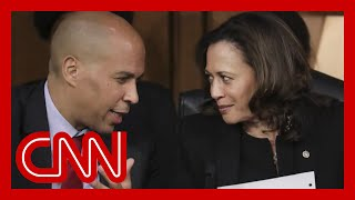 Cory Booker: Kamala Harris not worried about Trump's criticism