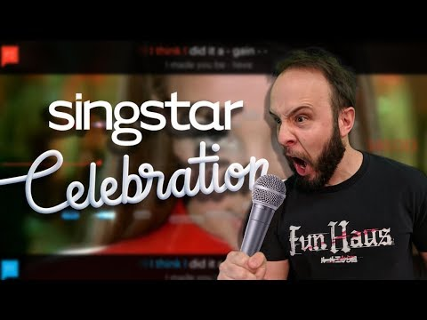PITCH AND MOAN - SingStar Celebration Gameplay