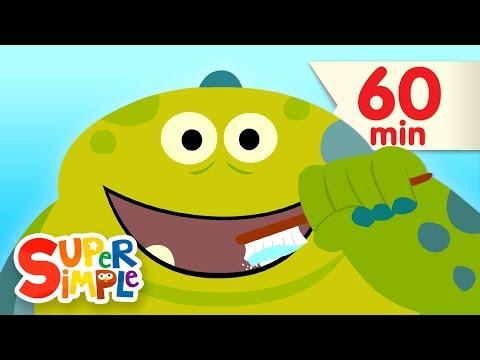 Brush Your Teeth + More  Kids Sgs  Super Simple Sgs