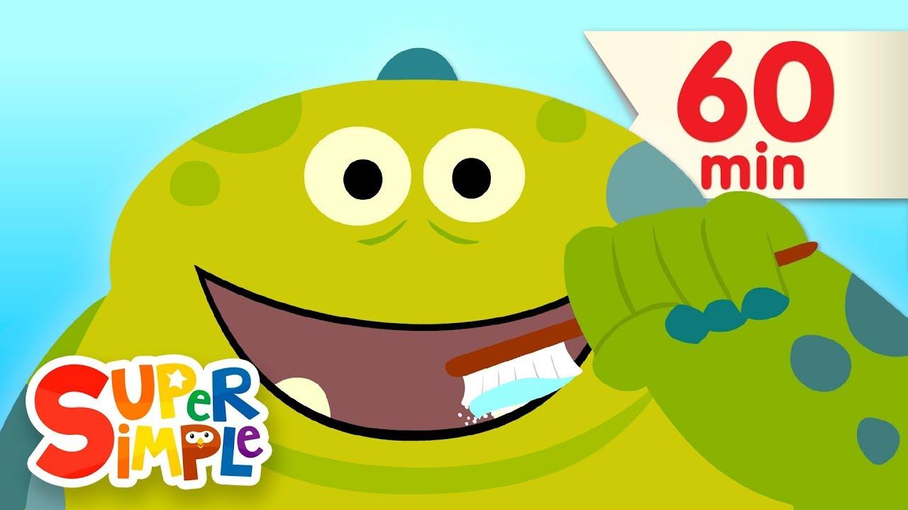 Brush Your Teeth + More | Kids Songs | Super Simple Songs - YouTube