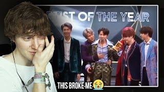 THIS BROKE ME! (BTS (방탄소년단) MAMA Artist of the Year Speech 2018 | Reaction/Review)