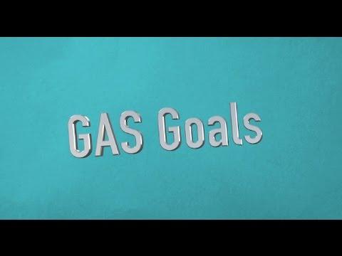 gas goals goal attainment scaling recipe for success