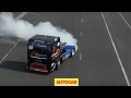 Drag race: Range Rover Sport SVR vs BTRC MAN Racing Truck