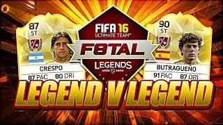 legend crespo vs butragueno f8tal legends showdown vs tobbal fifa 16 ultimate team