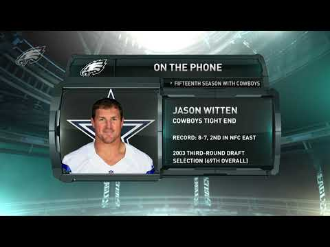 On The Phone: Dallas Cowboys TE Jason Witten