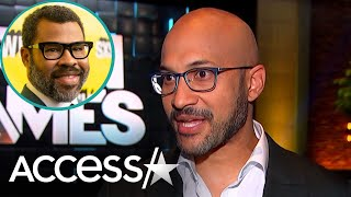Keegan-Michael Key Reveals He And Jordan Peele Keep In Touch By Texting Each Other Ridiculous Names