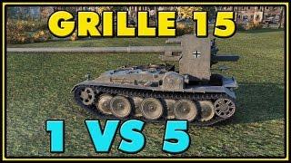 World of Tanks | Grille 15 - 8 Kills - 9K Damage