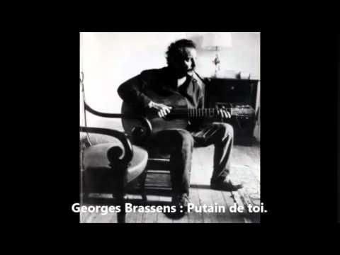 Georges Brassens : Putain de Toi (Version inédite).