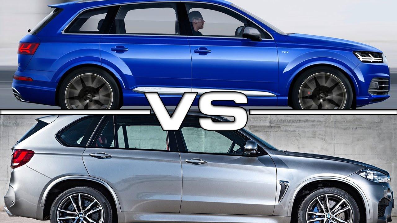 Audi Sq7 Vs Bmw X5 M Road Test Youtube