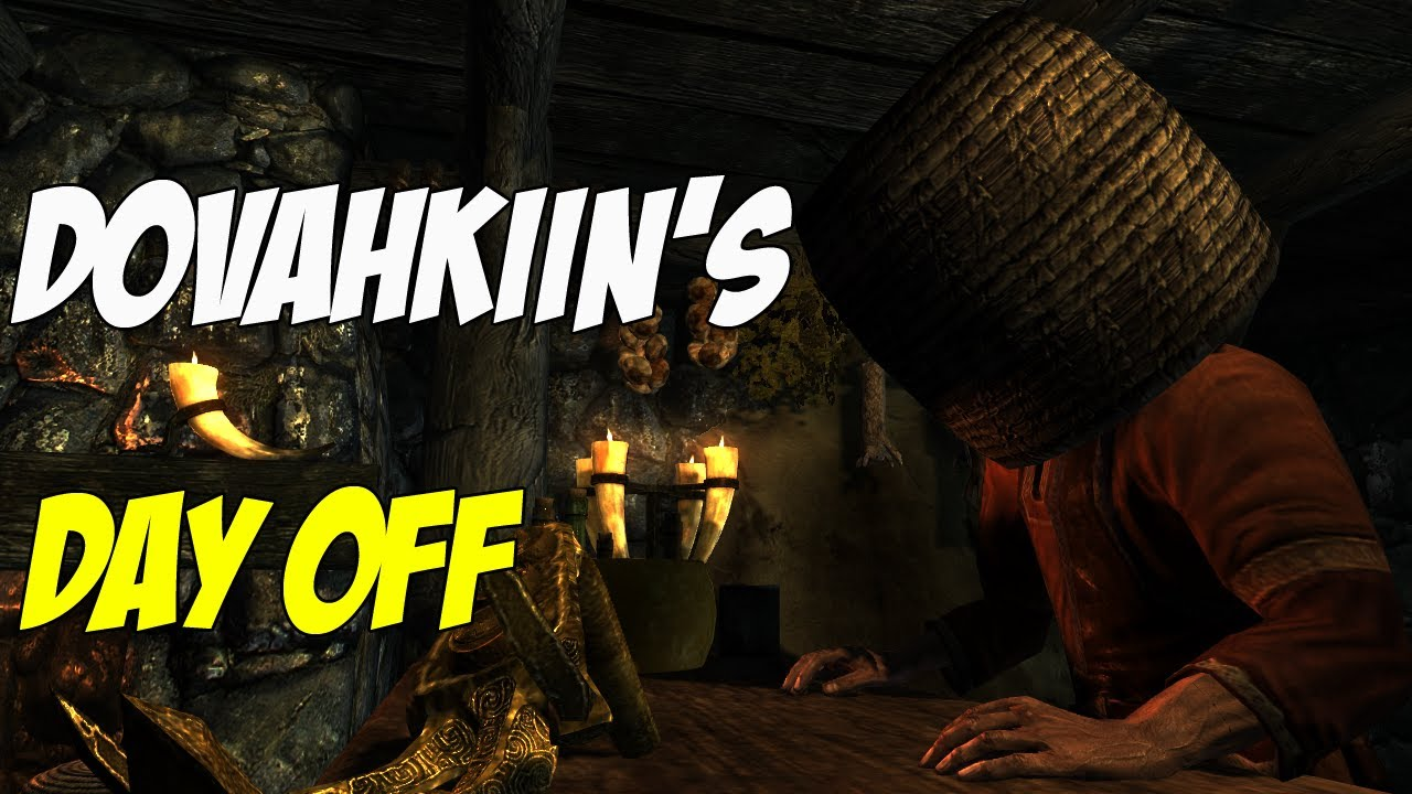 Amusing Skyrim Glitches Caught On Video - Game Informer