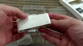 Адаптер 6-в-1 для iPad, iPhone или iPod. Видеообзор от Электробума