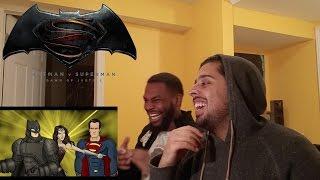How Batman v Superman: Dawn of Justice Should Have Ended REACTION!!!