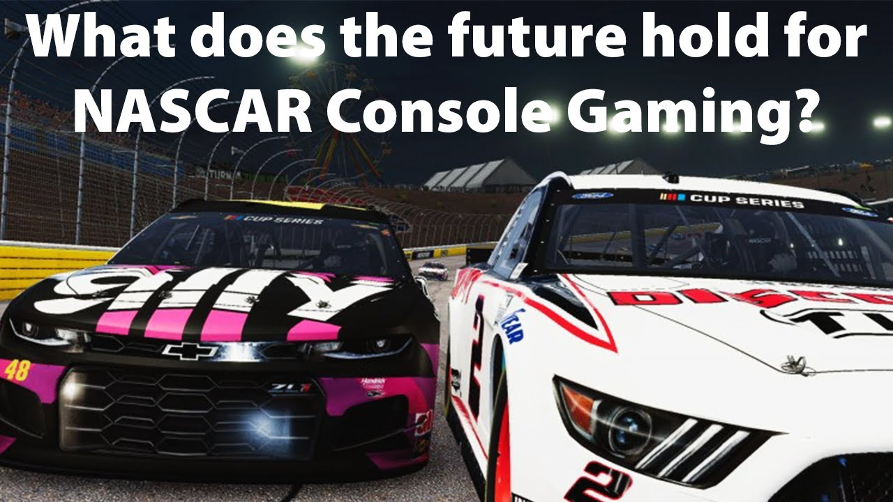 What does the future hold for NASCAR Console Gaming?
