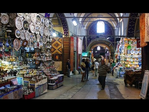 a Short Walk in Istanbul (Bazaar)