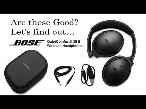 Post Unboxing and Review Bose QuietComfort (QC) 35 ii