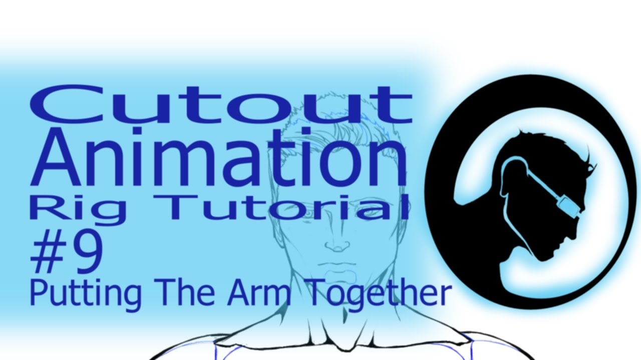 Cutout animation 9 putting the arm together youtube.