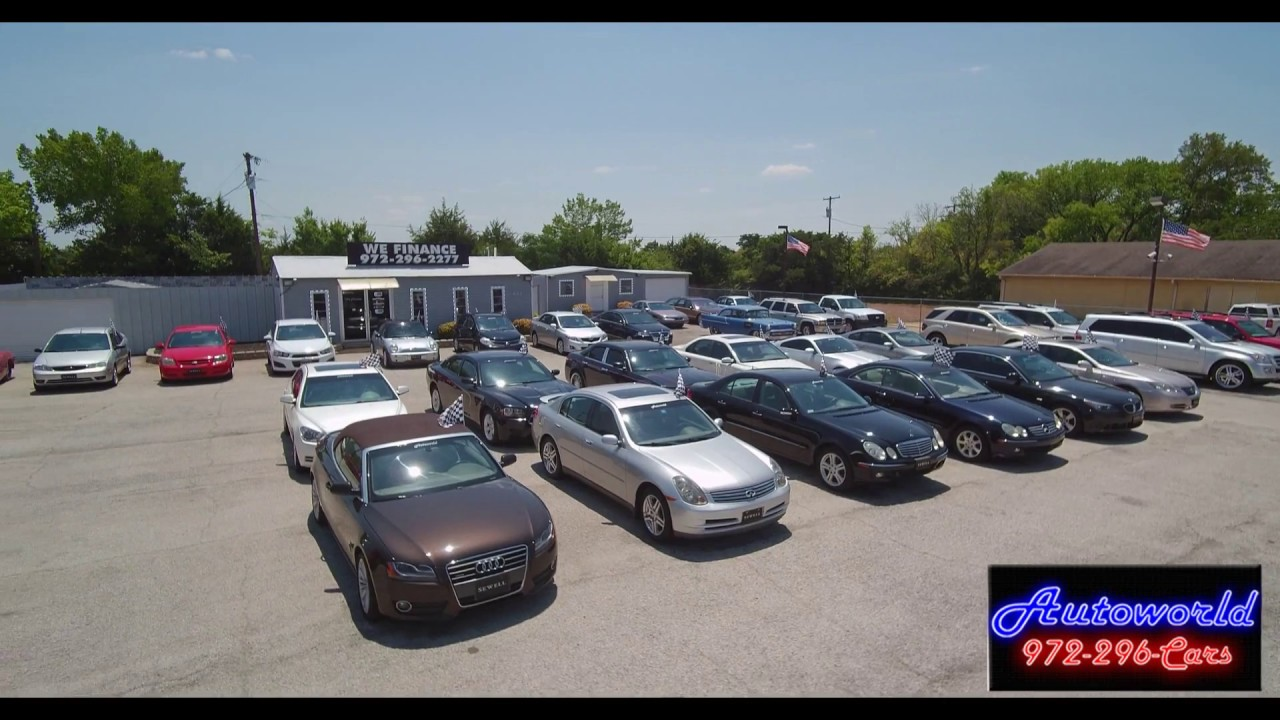 In House Financing Car Dealers >> Autoworld In House Financing New Car Industry As A Wholesale Buyer In Duncanville Texas Usa