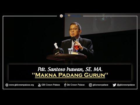 Pdt. Santoso Irawan, SE. MA. - Makna Padang Gurun