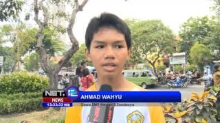 NET12 - Ratusan Siswa Membuat Biopori di Surabaya