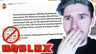 THE REAL REASON POKEMON BRICK BRONZE WAS DELETED (Roblox)