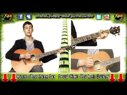 ★Bruno Mars It Will Rain Guitar Lesson With Chords Strumming and more! Twilight  Breaking Dawn!★